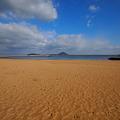 国見の砂浜