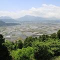 写真: 100512-42城山展望所からの阿蘇山1