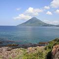 写真: 100516-59最南端からの開聞岳