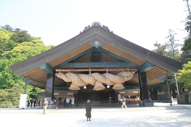 Photos: 110519-73四国中国地方ロングツーリング・出雲大社・神楽殿