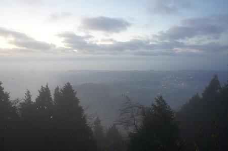 阿夫利神社本社(頂上)からの景色