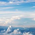 写真: 雲の島