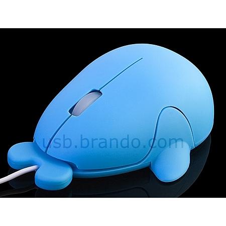 クジラ型USBマウス3