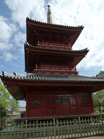 豊前国分寺(8)三重塔