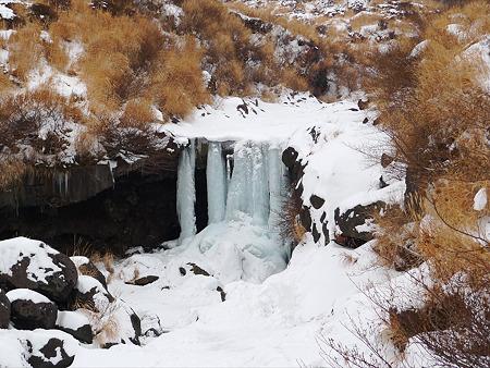冬の仙酔峡(7)