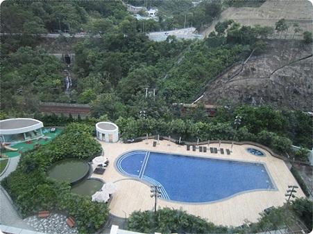 20110929 【香港】ハイアットリージェンシー沙田からの景色