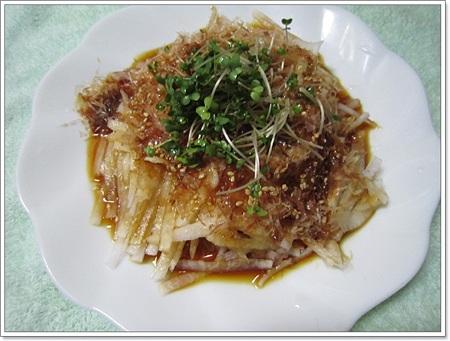 20110710 大根サラダ