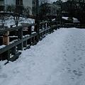 中の橋 浅野川 足跡