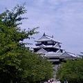 初夏の松山城