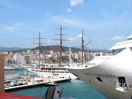 スペイン・マヨルカ島に着きました…