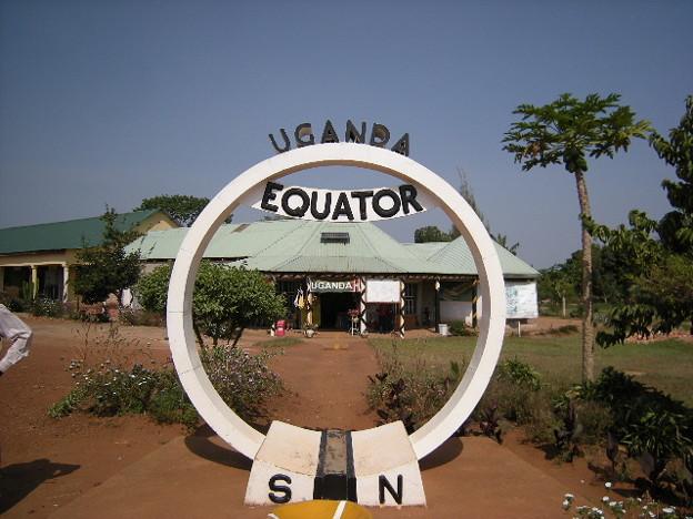ウガンダの赤道