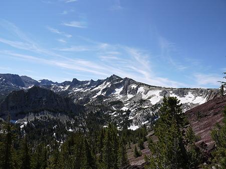 Crystal Crag方面の眺望