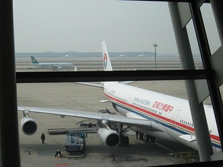 浦東空港は広い