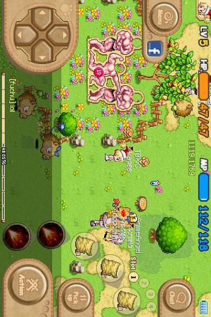 iPhoneMMOアプリ