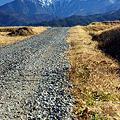 仙丈ヶ岳に続く道